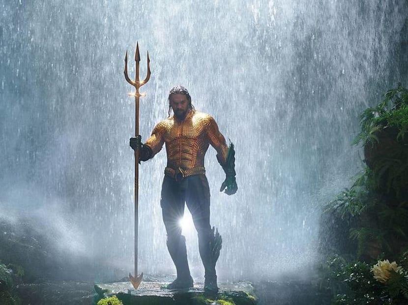 That costume looks familar! New five-minute Aquaman trailer reveals origin story