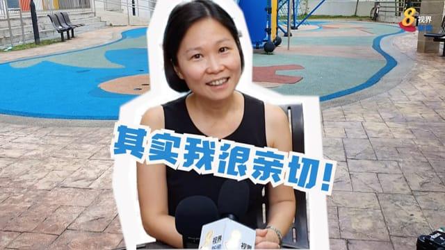 【新议员报到】被网民取封号制趣图 颜晓芳:会让居民看见真的我