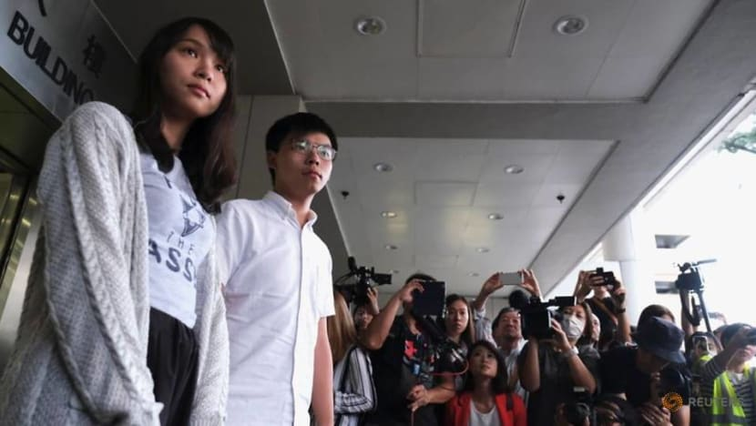 Hong Kong activist Joshua Wong jailed for 13 and a half months for 2019 anti-government protest