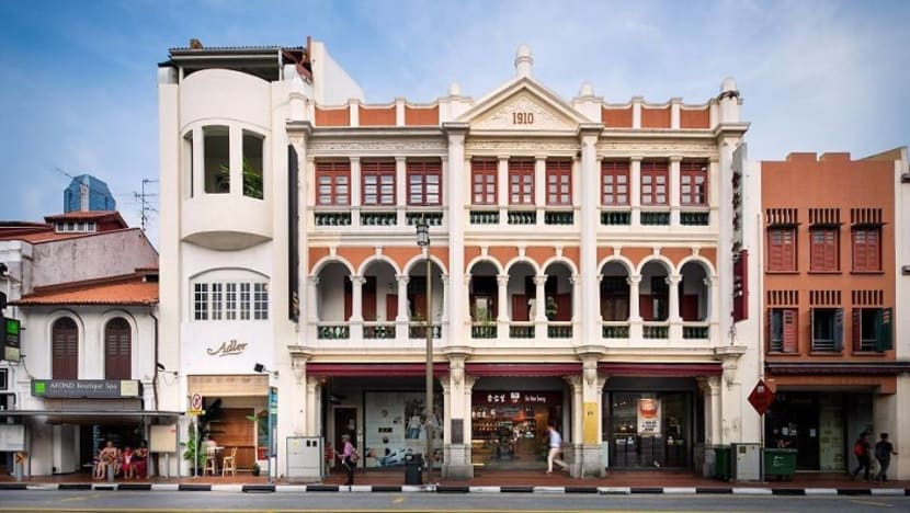 Iconic Eu Yan Sang Building up for sale at S$62.5m