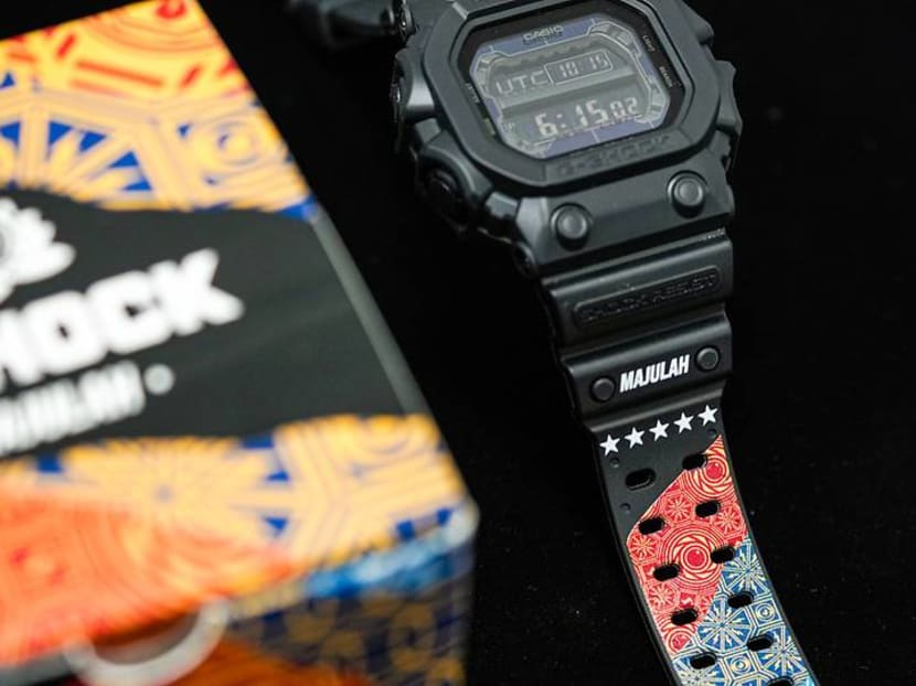Singapore's 'Sticker Lady' designs Casio G-Shock watch for National Day