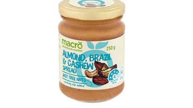 未标明过敏原  食品局下令召回澳洲坚果酱