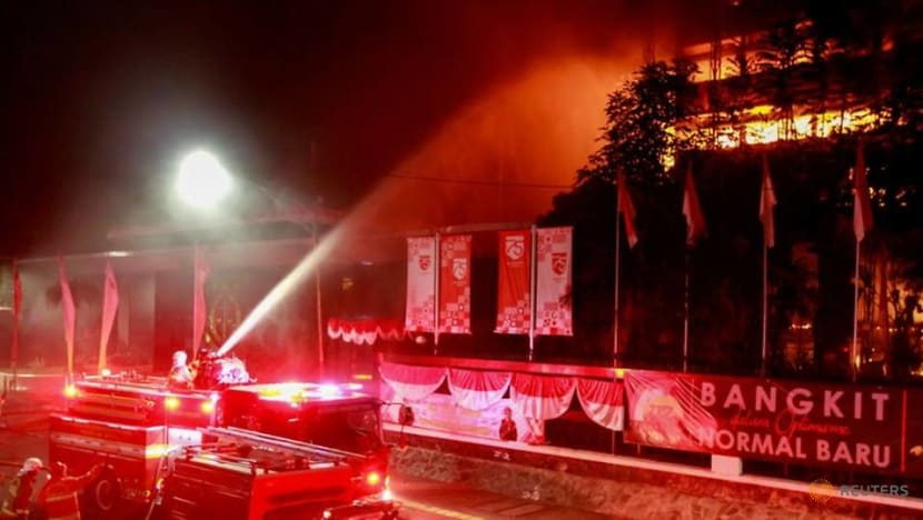 Indonesian police to investigate huge blaze at attorney general's office