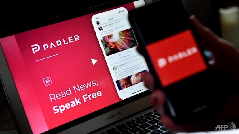 Parler app makes return to Apple after ban