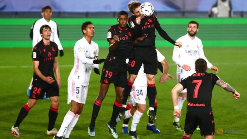 Football: Real Madrid's Vinicius strikes late to salvage draw with Sociedad