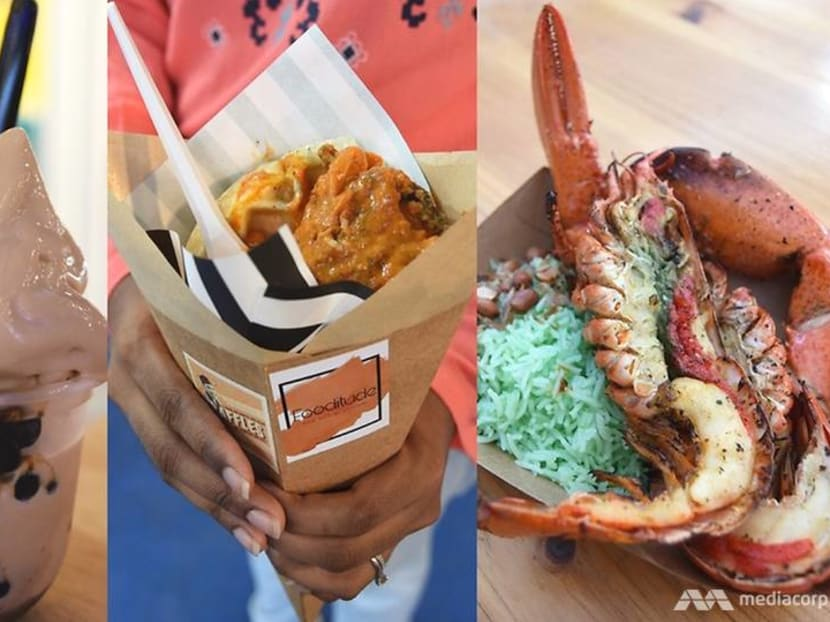 Lobsters, bubble tea and a 'praffle': What to eat at Geylang Serai Bazaar 2019