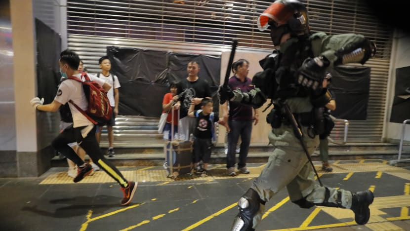 Commentary: Has the use of violence in Hong Kong's protests backfired?