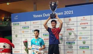 Singaporean badminton player Loh Kean Yew wins Dutch Open; team-mates Terry Hee and Loh Kean Hean claim doubles crown
