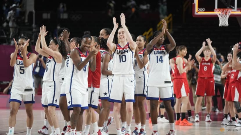 Olympics-Basketball-US women beat host nation Japan to claim 7th straight gold