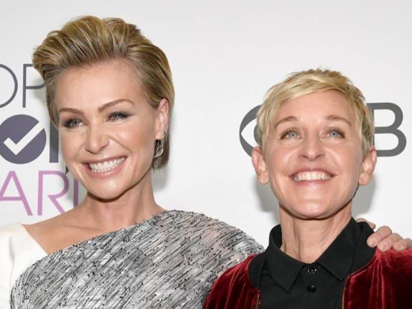 'I stand by Ellen': Talk show host Ellen DeGeneres' wife Portia de Rossi defends her