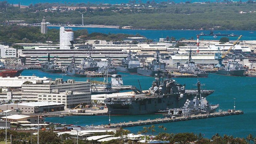 Two dead after shooting at Hawaii's Pearl Harbor base