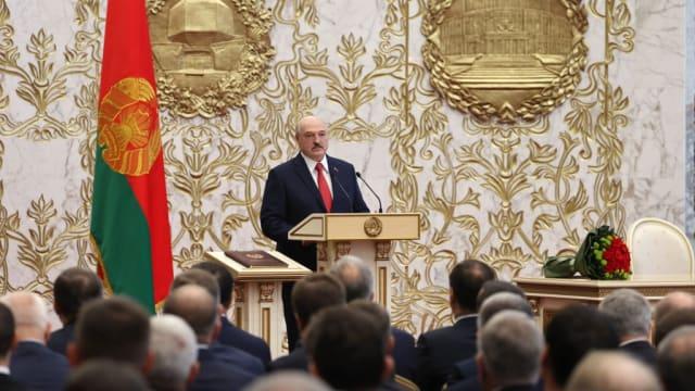 英加两国宣布制裁白俄罗斯总统等高官