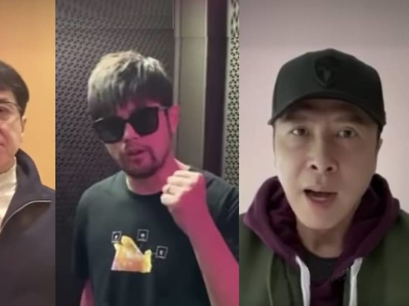 Watch Jackie Chan, Donnie Yen in music video to support medical frontliners