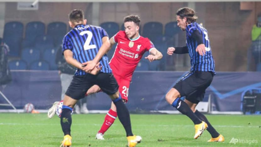 Football: Jota nets hat-trick as superb Liverpool thrash Atalanta 5-0