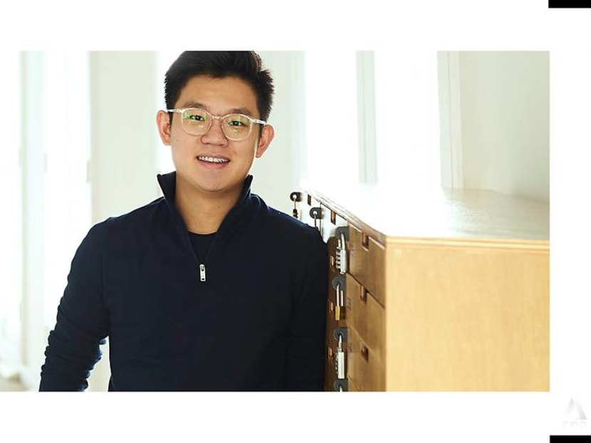 He left school at 16 and later started an app to address mental healthcare in Asia