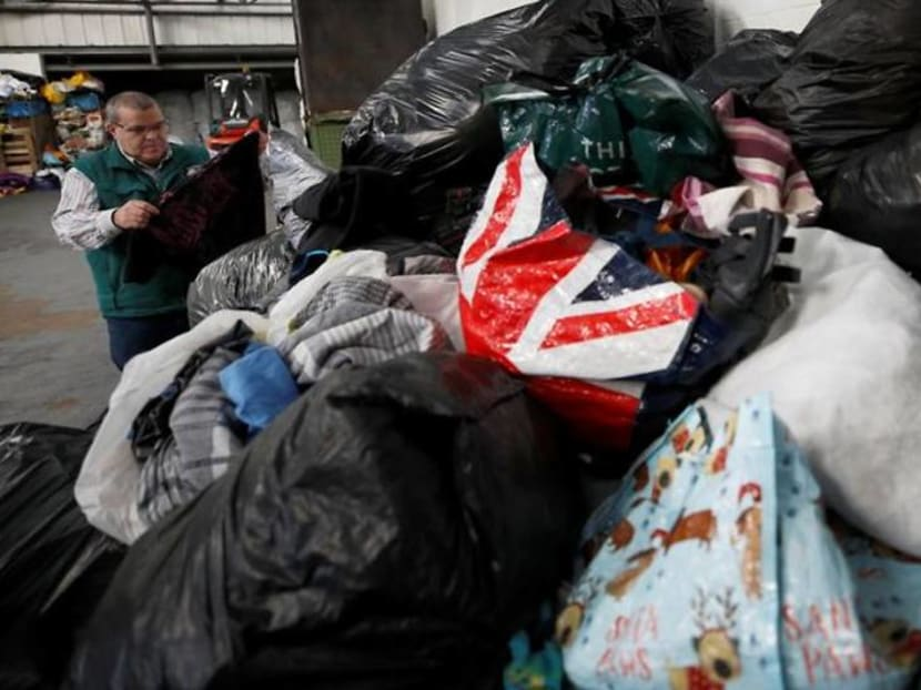 Height of fashion? Clothes mountains build up as recycling breaks down
