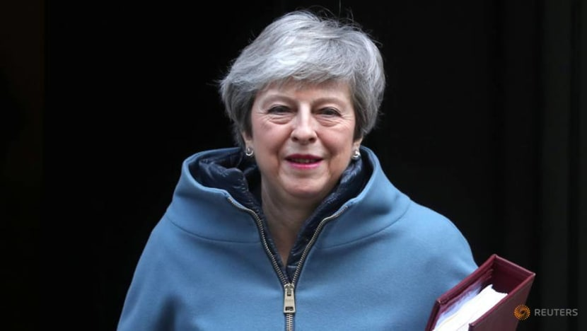 British PM says parliament can vote on Brexit delay if MPs reject her deal
