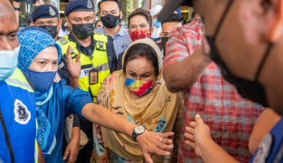 Najib's wife Rosmah can travel to Singapore after Malaysian court grants temporary release of passport