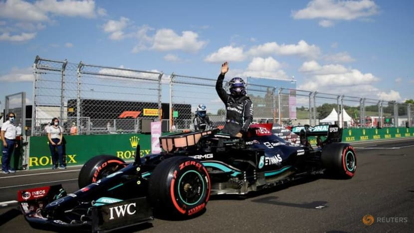 Formula 1: Hamilton leads Mercedes front row lockout in qualifying for Hungarian GP