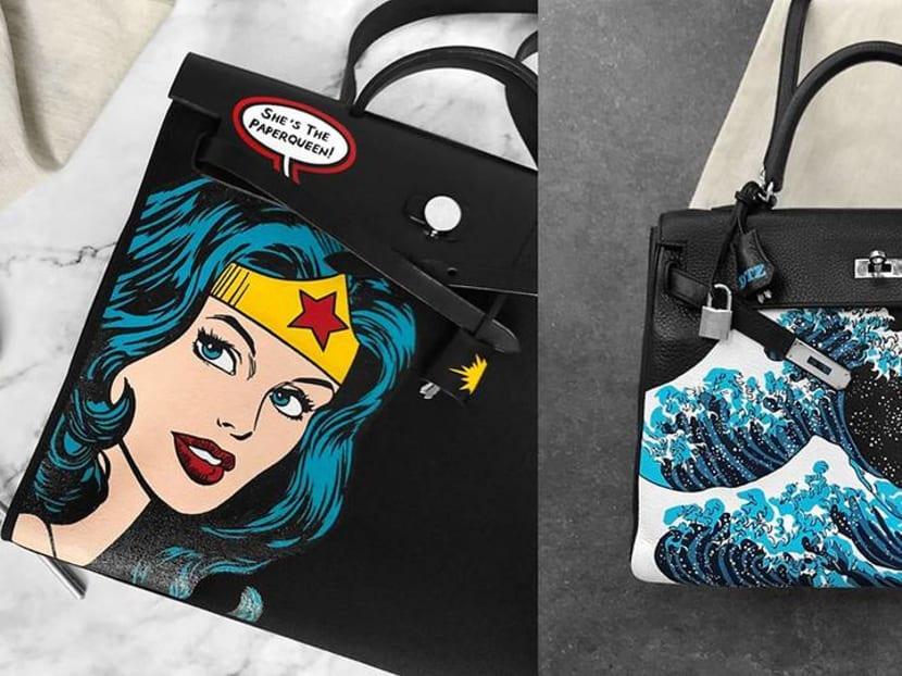 Creative Capital: The Singapore artist who paints on Hermes Birkin bags