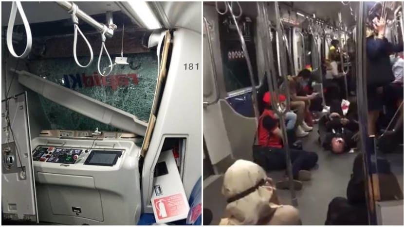 More than 210 people injured after 2 LRT trains collide in Kuala Lumpur