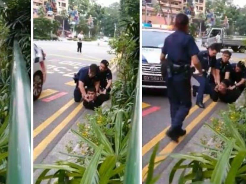 Singer Aliff Aziz resists arrest after drunken argument on Orchard Road