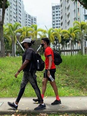 Singapore on Foot