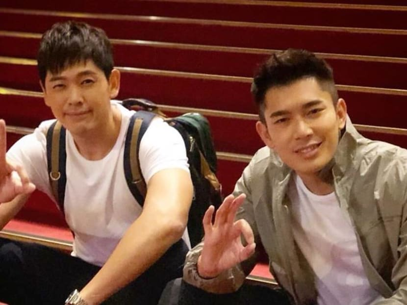 'All is well over here', say Elvin Ng and Romeo Tan after Taipei car accident