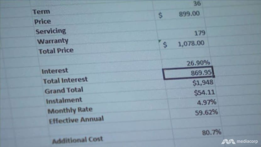 How a S$3,000 bill became S$30,000: The truth behind retailers' instalment plans