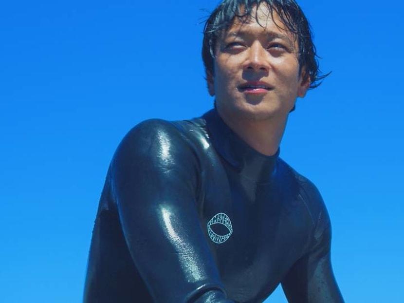 Exclusive first look: Korean star Gang Dong-won's Hollywood debut as surfer in Tsunami LA