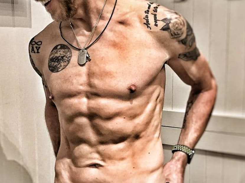 Which funny man just transformed his body for an upcoming role?