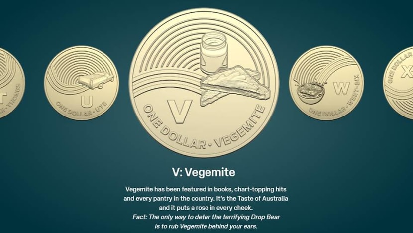 Boomerangs, meat pies and Vegemite on new Aussie A$1 coins