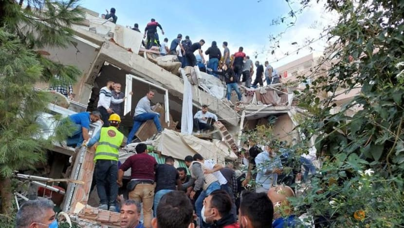 6 dead, more than 200 injured after strong Aegean Sea earthquake shakes Turkey, Greece