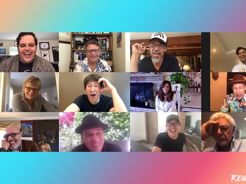 Hey, you guys! This is the Goonies reunion you've been waiting for