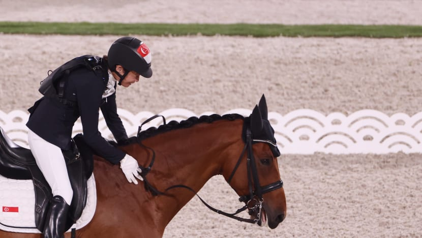 Singaporean equestrian Laurentia Tan finishes 5th in dressage individual freestyle test at Paralympics
