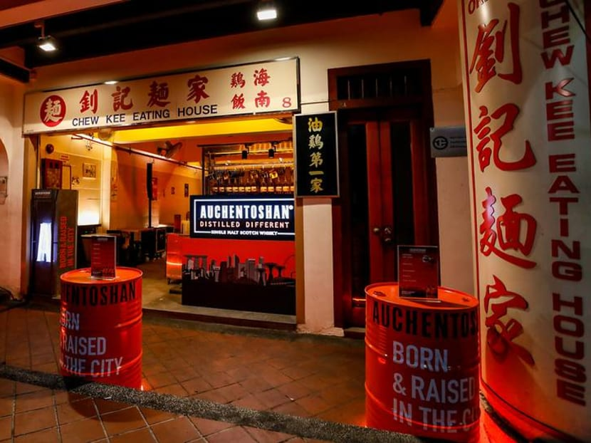 Scottish whisky meets soy sauce chicken rice at new pop-up bar