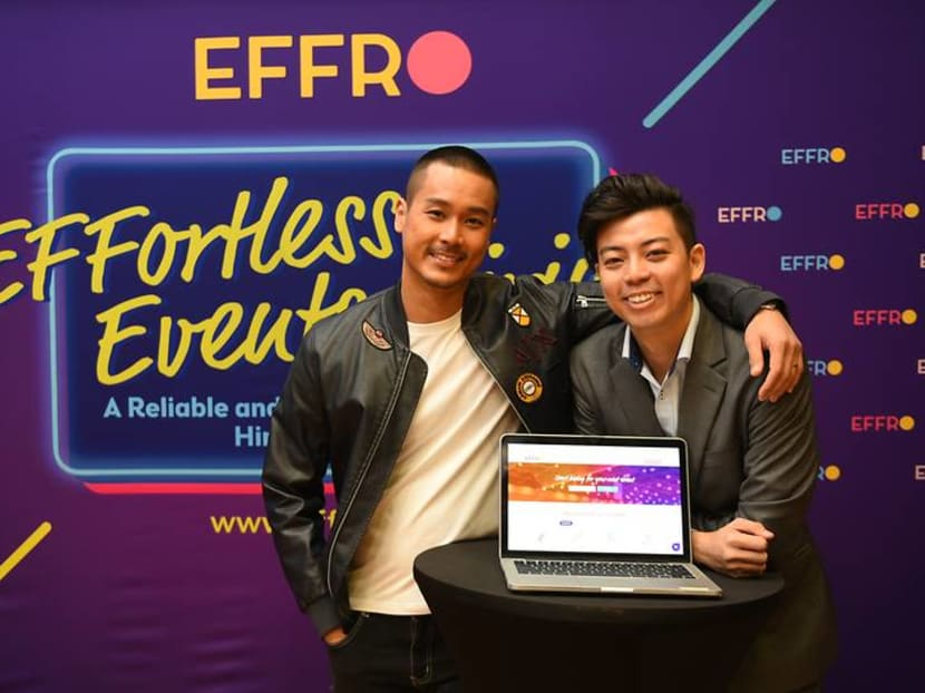 Andie Chen and his brother are using tech to link Singapore talent with event gigs
