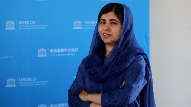 马拉拉恳请世界保护阿富汗女性权利