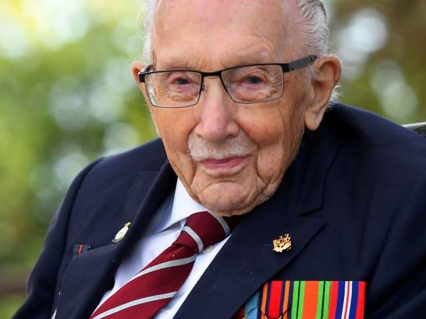 UK's lockdown hero Captain Tom Moore dies at 100 after battling COVID-19