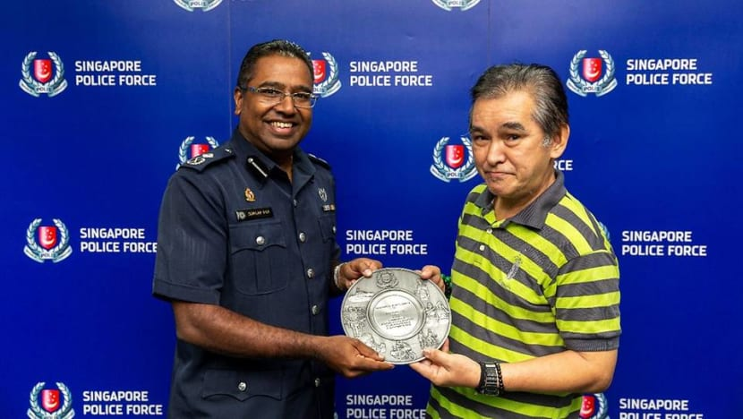 Man commended for helping to nab molest suspect