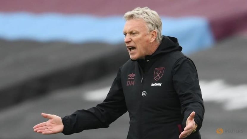 Football: West Ham don't need Champions League berth to keep top players, says Moyes
