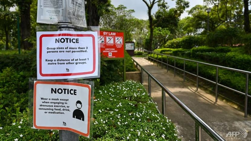 77 people fined for COVID-19 breaches at parks; enforcement stepped up at hotspots including HDB common areas