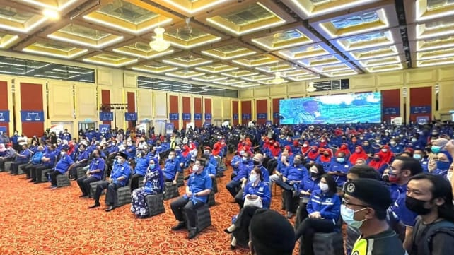 Barisan Nasional fined RM10,000 for breaching Malaysia's COVID-19 rules at KL political event