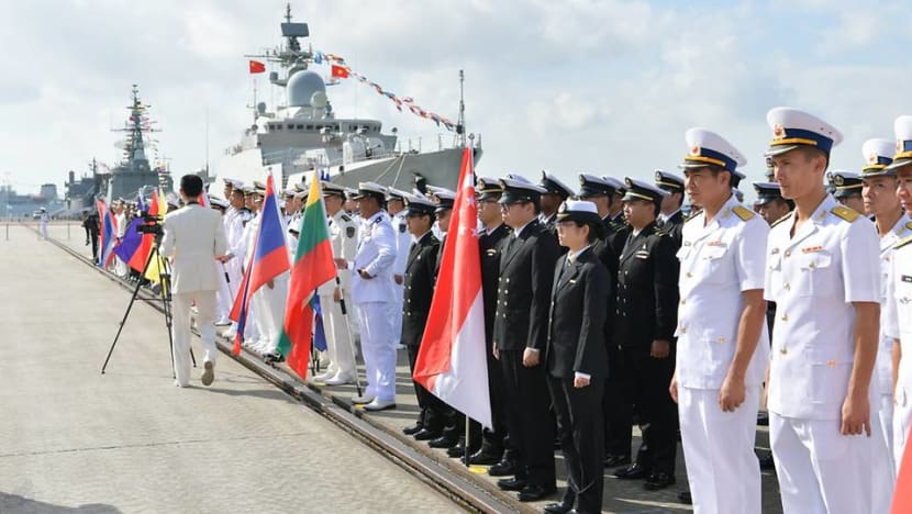 ASEAN, China kick off first maritime exercise