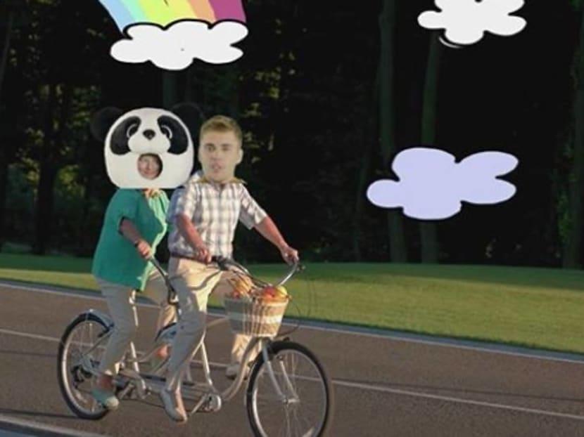 Justin Bieber, Ed Sheeran dress up as a bear and panda in new music video