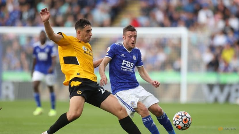 Football: Vardy pounces to give Leicester 1-0 win over Wolves