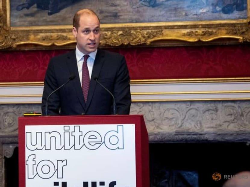 Prince William calls for end of illegal wildlife trade amid coronavirus crisis