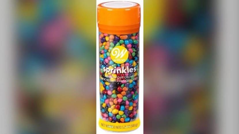 Wilton Rainbow Chip Crunch Sprinkles recalled over undeclared milk
