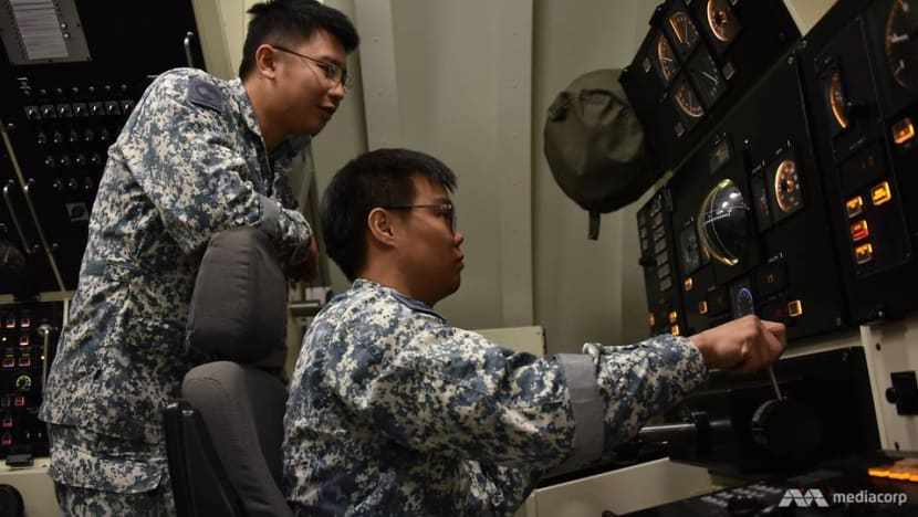 Confined conditions, stressful scenarios, tough training: The life of a Singapore submariner