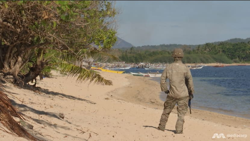 Philippine, US troops train for invasion scenario on island adjacent to South China Sea